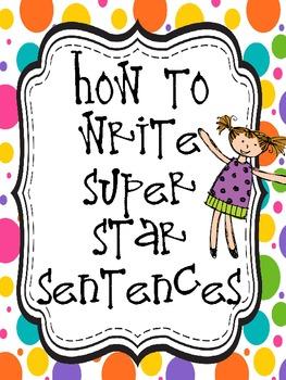 Super Star Sentence Structure Unit