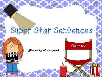 Super Star Sentences (a writing center game)