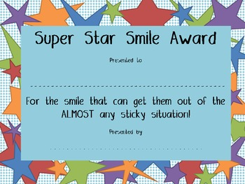 Super Star Smile Award