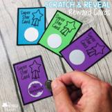 Super Star Student Reward Cards {Scratch & Reveal}