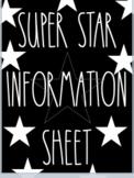 Super Star Student Tempalte