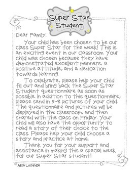 Super Star Student of the Week