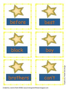 Super Star Words (Star Wars) - Word Wall (2nd grade)