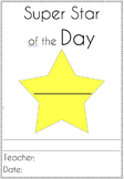 Super Star of the Day Certificate