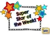 Super Star of the Week Pack- Editable!