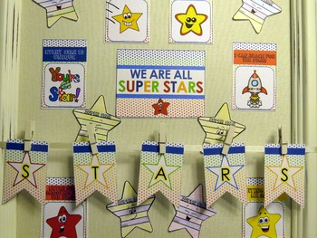 Super Stars Back to School Activity and Bulletin Board