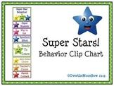 Super Stars! Behavior Clip Chart