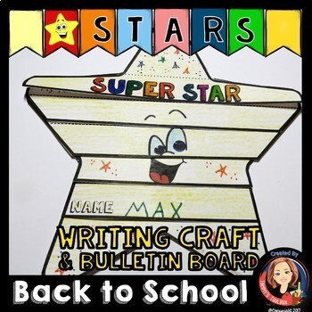 Super Stars Theme Back to School Decor Gifts Activities BUNDLE
