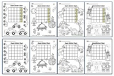 Super Sticker Chart & Coloring Page, Package 1