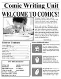 Super Stories: A Comic-Writing Unit