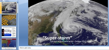 Super-Storm: The Story of Hurricane Sandy (Case Study)