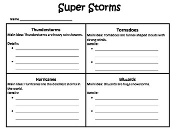 Super Storms - Journeys