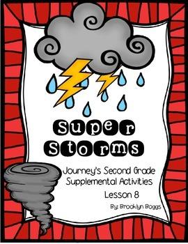 Super Storms Journey's Activities - Second Grade Lesson 8