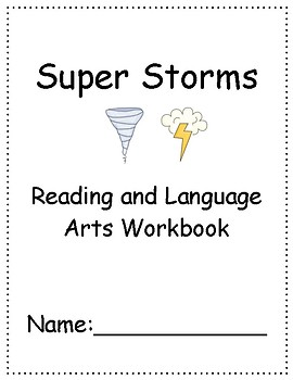 Super Storms ~ Language Arts Workbook ~ 2nd Grade ~ HMH Journeys