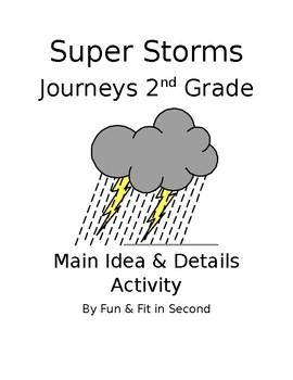 Super Storms Main Idea and Details Activity