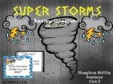 Super Storms Review Task Cards for Houghton Mifflin Journeys