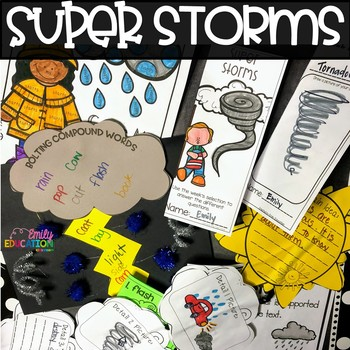 Super Storms Supplement Materials Aligned with Journeys 2nd Grade