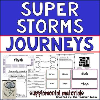 Super Storms Journeys Second Grade Supplemental Materials