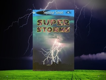 Super Storms Vocabulary - Journeys 2nd Grade Lesson 8