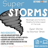 Super Storms Weather Close Reading