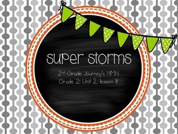 Super Storms supplemental activities - Journey's 2nd Grade Unit 2 Lesson 8