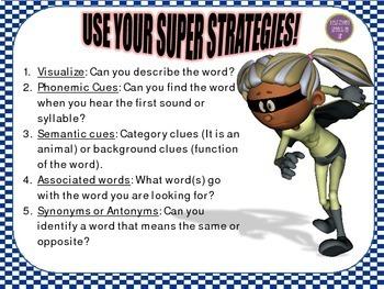 Super Strategies for Word Retrieval FALL THEME