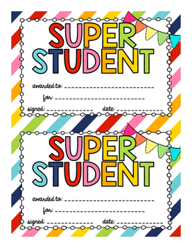 Super Student Awards