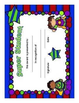 Super Student Awards