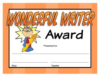 Super Student Awards - Superhero Themed Awards for Student Recognition!