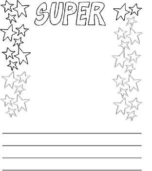 Super Student Portfolio Page