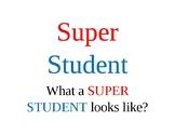 Super Student Poster