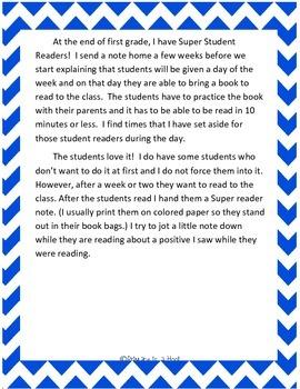 Super Student Readers
