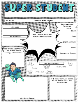 Super Student Sheet
