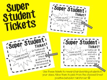 Super Student Tickets