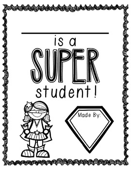 Super Student of the Day!