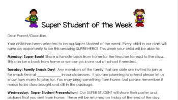 Super Student of the Week