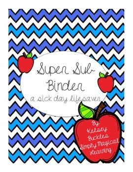 Editable Super Sub Binder