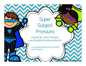 Super Subject Pronouns