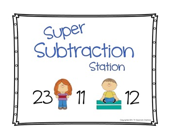 Super Subtraction Station