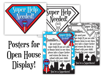Super Suckers Classroom Donations System for Open House