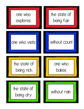 Super Suffixes