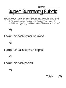 Super Summary