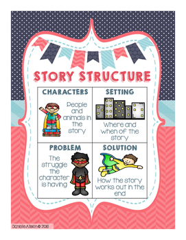 Super Summary & Story Structure Activities