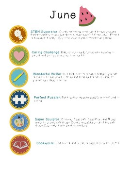 Super Summer Badges