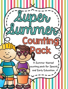 Super Summer Counting Pack 1-10