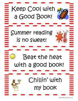 Super Summer Reading Packet:  Bingo, Bookmarks, Reading Log, More!