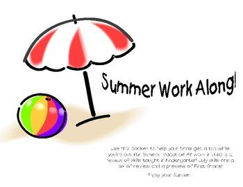 Super Summer Work Pack ~Kindergarten