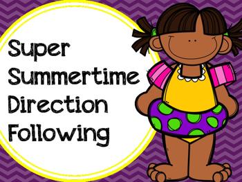 Super Summertime Direction Following