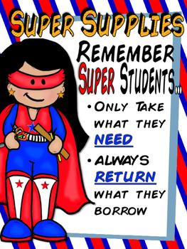 Super Supplies Poster