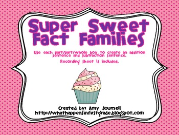 Super Sweet Fact Families